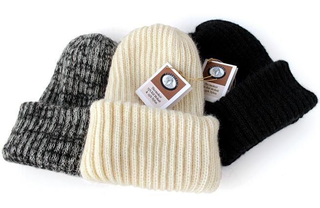 サーモヘア リブニット帽子ダブルの特徴